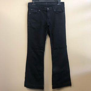 7FAM Black The Slim Trousers size 28